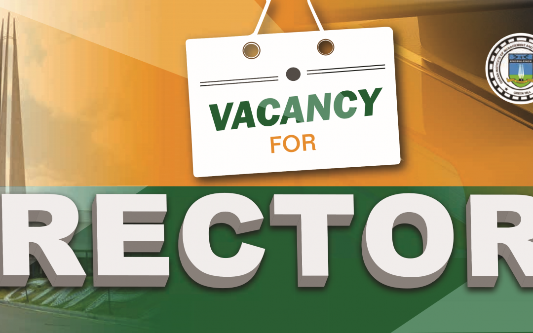 GIMPA Issues a Call for a Rector