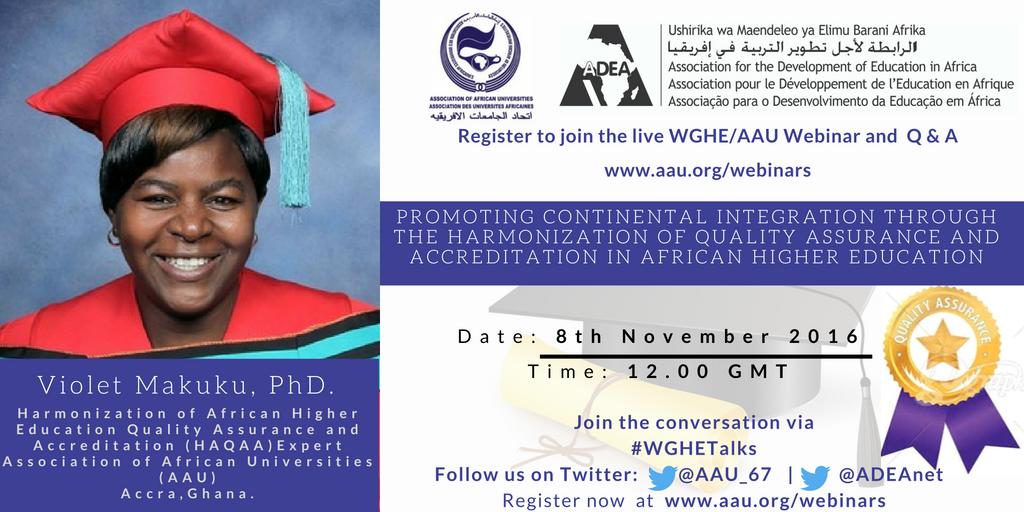 5th Webinar Presenter – Dr. Violet Makuku
