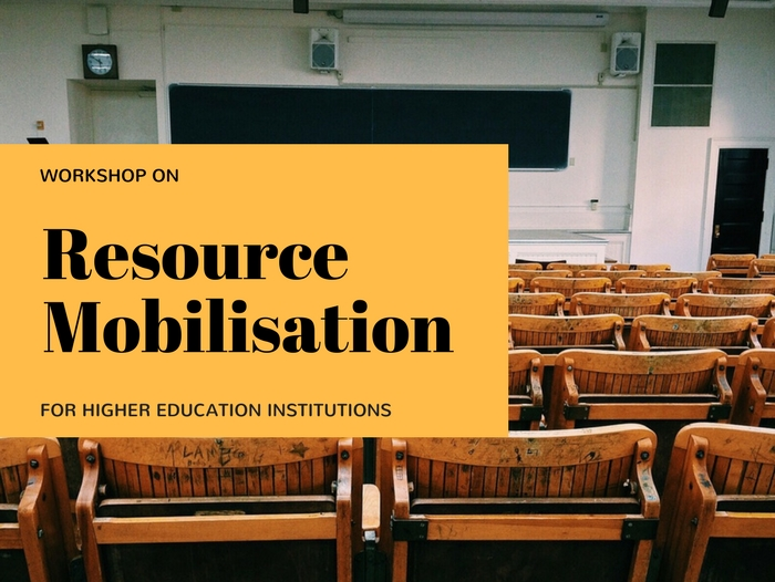 Resource Mobilisation Workshops (RMW) I