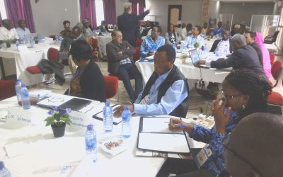 Enhancing the Leadership Skills of University Leaders –  AAU holds 11th LEDEV Workshop in Tutu Akuapem, Ghana
