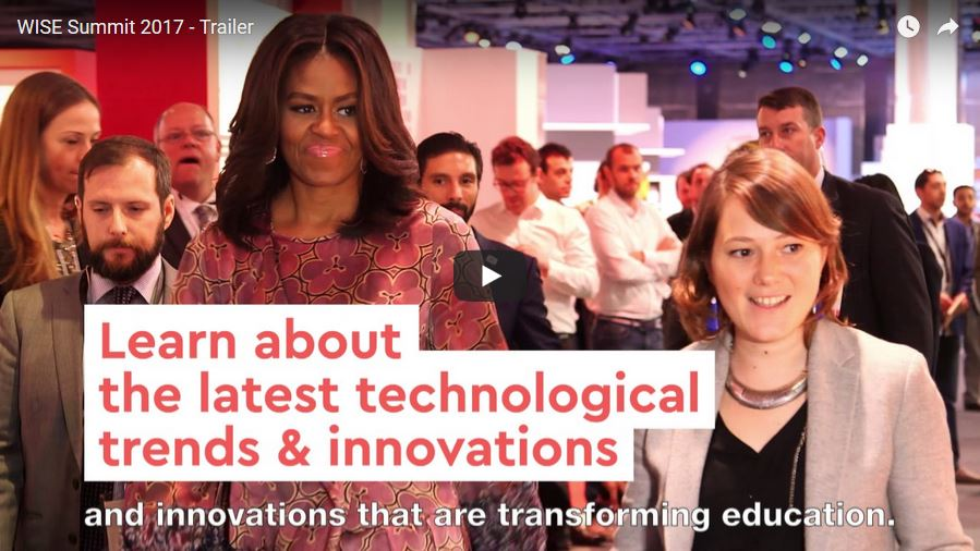 8th World Innovation Summit for Education (WISE), November 14-16, 2017, Doha, Qatar
