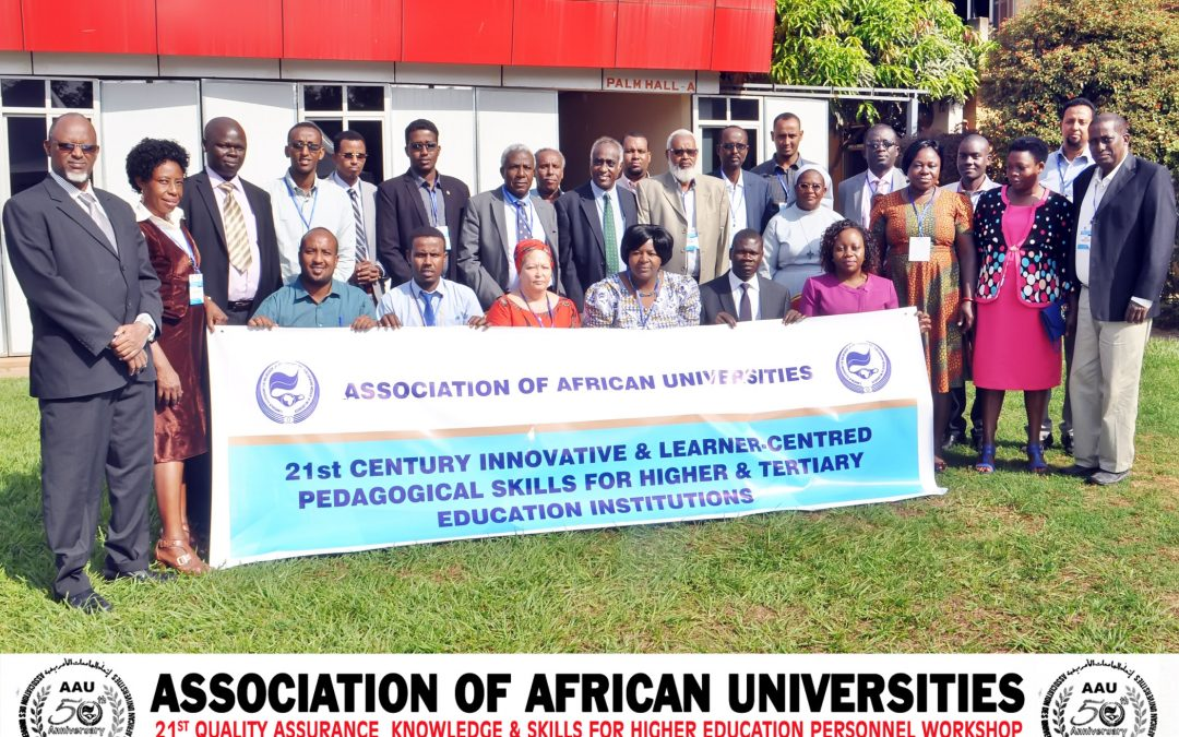 Quality Assurance Workshop on the 21st Century Innovative & Learner-centred Pedagogical Skills for Universities, Polytechnics and Colleges