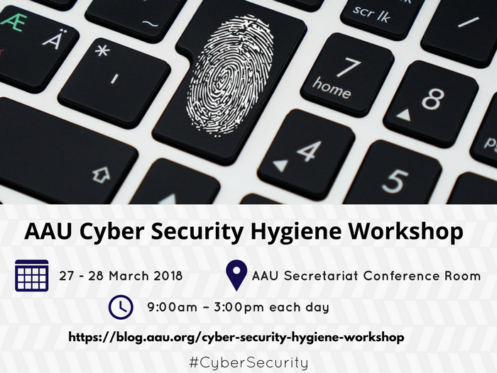 AAU CYBER SECURITY HYGIENE WORKSHOP