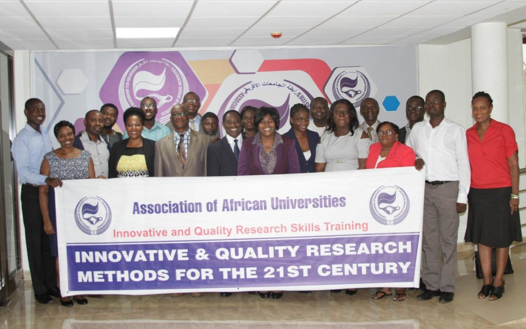 Innovative and Quality Research Methods Knowledge and Skills Training Workshop   May 27 -31, 2018  Zimbabwe