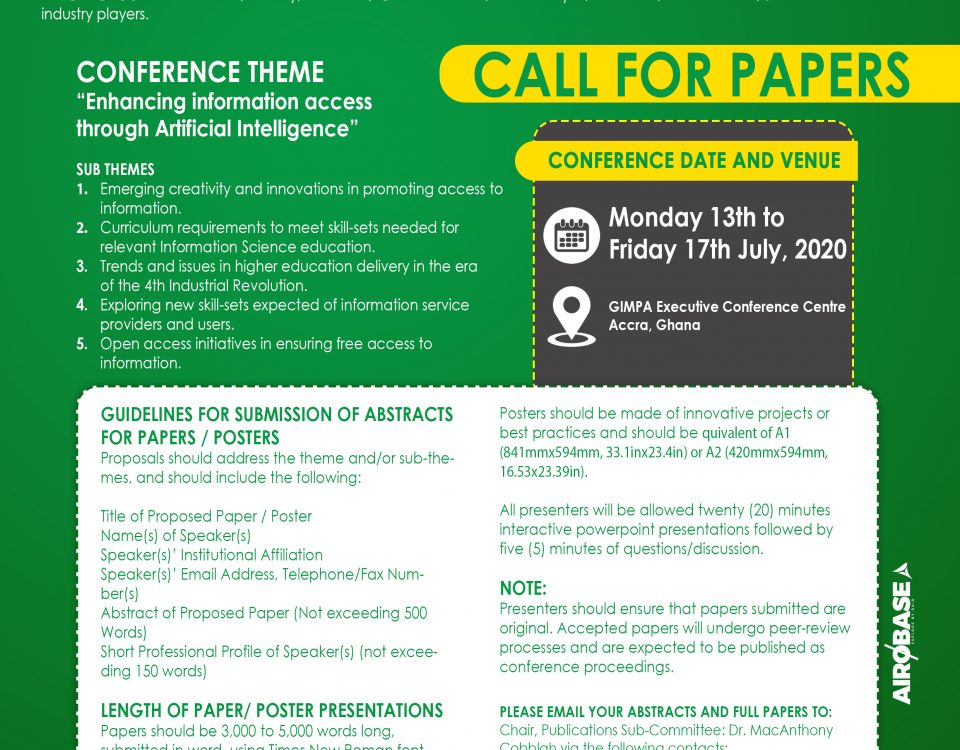 Call for Papers - CARLIGH